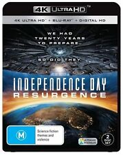 Independence Day - Resurgence 4K Blu-Ray + UHD + UV : NEW 4K Ultra HD