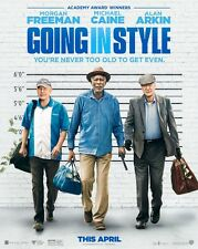 Going In Style - original DS movie poster - 27x40 D/S 2017 Advance