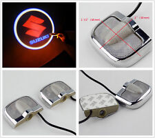 2x Custom Tank Fender Fairing Projector light 3M NEW For SUZUKI Motorcycles DIY
