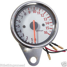 motorcycle,chrome,mini,tachometer,rev counter,Chop,trike,project,honda,suzuki,