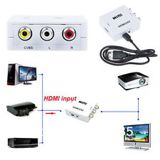 HDMI input Digital to AV RCA Analog Audio/Video Composite CVBS Output Converter