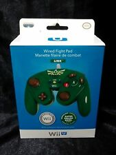 Nintendo Legend of Zelda Wired Fight Pad Link Green Controller for Wii/Wii U