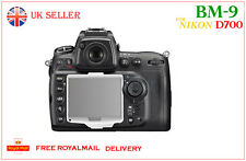 NIKON BM-9  Hard LCD Cover Screen Monitor Protector BM9 for Nikon D700 UK Sale