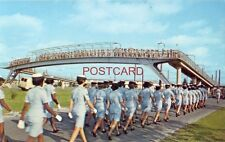 The overpass at LACKLAND AIR FORCE BASE, SAN ANTONIO, TX Airmen trainees and WAF