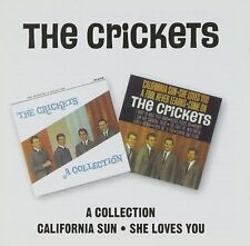 The Crickets A Collection/California Sun-She Loves You 2on1 CD NEW SEALED