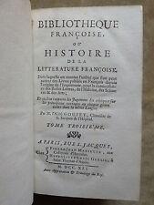 BIBLIOTHEQUE Française HISTOIRE DE LA LITTERATURE FRANCAISE.ECRITS SUR POESIE