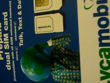 5 Lycamobile PLUS  Dual SIM Card for unlocked gsm 4G