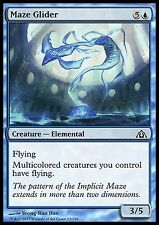 Maze Glider X4 Blue Common Dragon's Maze MTG Magic Cards