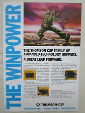 11/87 PUB THOMSON-CSF TELECOMMUNICATION RADIO TRC 920 TRC 950 TRC 930 AD