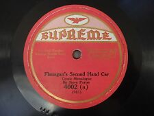 Steve Porter Flanagan's Second Hand Car Hy Si and the Line Fence Supreme VG++