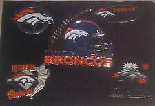 Set of 5 Denver Broncos Logo Collector Pins