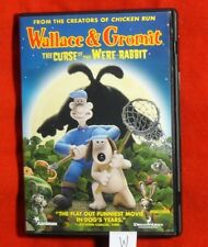 LN Wallace & Gromit Curse of the Were-Rabbit DVD 2006 Widescreen Cheap Postage