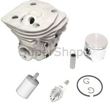 Cylinder & Piston Kit For Husqvarna 350 (44mm) Rep - 537253102 Nikasil Plating