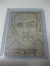 TOPPS INDIANA JONES MASTERPIECES HOWARD SHUM SKETCH CARD