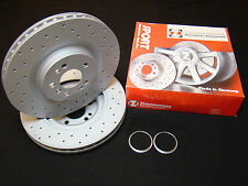 Vw Golf Mk5 R32 Zimmermann 350mm Discs, Hub Rings for 6pot 18zl 18zr Calipers