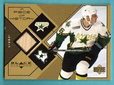 1999-2000 Black Diamond A Piece of History Brett Hull Stick Dallas Stars