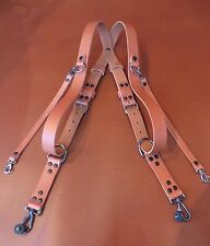 PHOTOLEASH  LEATHER MULTI CAMERA HARNESS STRAP- DSLR  CANON SONY NIKON OLYMPUS