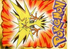 POKEMON CARTE MERLIN STICKER 1999 CARD N°  145 ZAPDOS ELECTHOR