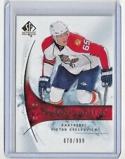 2009-10 VICTOR ORESKOVICH UPPER DECK SP AUTHENTIC ROOKIE CARD #182 ** 70/999 **
