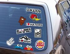TUNING STICKER 10er SET JDM AUFKLEBER SHOCKER HATERS DUB STYLE WINTERAUTO DECALS