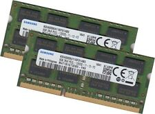 Samsung 16gb 2x 8gb memoria RAM 1600 MHz ddr3 per Apple MacBook Pro Core i5, i7