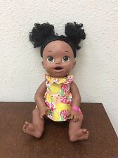 Baby Alive Super Snacks Snackin' Sara African American Doll No Other Accessories