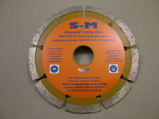 "Diamond blade disc 125mm/5"" for brick stone concrete, good disc for a low price"