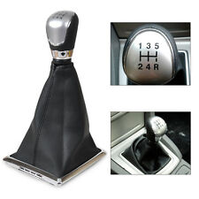 NEW Black 5 Speed Gear Shift Knob Gaitor Boot Cover For 05-08, 10-12 Ford Focus