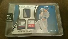 2016 IMMACULATE COREY SEAGER RC Triple Jersey Relic TAG TRUE 1/1 DODGERS Encased