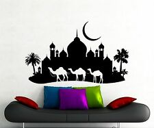 Camel Caravan Wall Decal Arabic Desert Vinyl Sticker Home Art Decor Mural 306xx