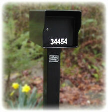 "Fort Knox Locking Mailbox ~1/4"" Steel~ AND Matching Post, Built Like A Tank!"