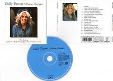 "DOLLY PARTON ""Love Songs"" (CD) Jolene,Here You Come Again... 1999"