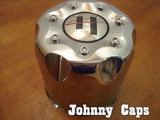 Helo Wheels Chrome Center Caps Helo Custom Wheel Medium Push-Thru Center Cap (1)