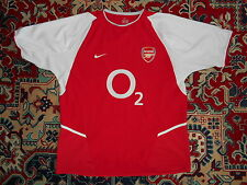 Arsenal London 2002/04 NIKE L INVINCIBLES Home shirt jersey 02 PLAYER ISSUE