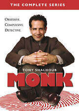 Monk, The Complete Series (DVD, 2016, 32-Disc Set) Free Shipping