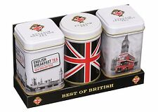 New English Teas Best of British Mini Tins Gift Pack Loose Tea 70 g- MT23