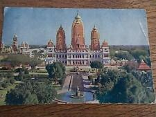 Vtg Indian Postcard BIRLA MANDIR Modern Architecture Lakshmi Narain Temple INDIA
