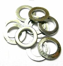 L11332v2 6.7mm x 4.2mm x 0.33mm Steel Silver Washer x 10  6.7x4.2x0.33