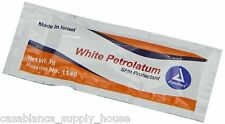 White Petroleum Jelly, Foil Packs, .5 Gram, 144-Count