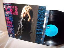 SAMANTHA FOX-SAM'S COLLECTION-JIVE ALI-22001 JAPAN W/OBI + INSERT NM/VG+ LP