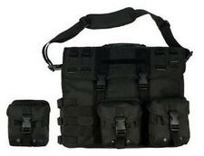 Wholesale lot of 3 Black Military Travel Tactical Laptop Computer Bag Case