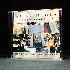 Al Di Meola - World Sinfonia - Heart Of The Immigrants - music cd album