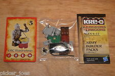 KRE-O A6735 DUNGEONS & DRAGONS Army Builder Packs Coll.1 ORC WARDRUMMER Figure