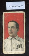 """1909-11 T206 Doc Casey Montreal Piedmont Back Poor To Fair Condition """"A"""""""
