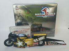 Angelle Savoie U.S. Army Pro Stock Bike Matco Tools 1:9  NHRA Limited Edition