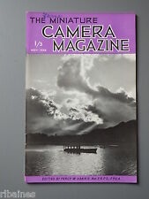 R&L Vintage Mag, The Miniature Camera November 1952, Langham Ultralite 300