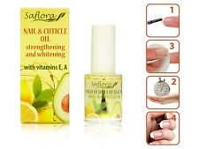 Vitaminized Nail & Cuticle Oil | ORGANIC BASE, ESSENTIAL OILS + VITAMINS E and A