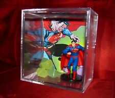 L@@k~Superman's Kryptonite Display..New.(inspired by)..**we combine shipping**