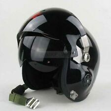 Motorcycle/Scooter helmet & Air force Jet Pilot flight helmet - Black