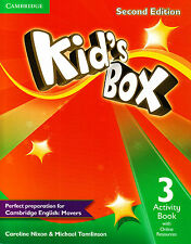 Cambridge KID'S BOX 3 Activity Book with Online Resources SECOND EDITION @NEW@